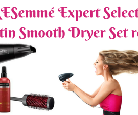 TRESemmé Expert Selection Keratin Smooth Dryer Set review TheFuss.co.uk