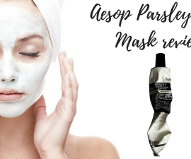 Aesop Parsley Seed Mask review TheFuss.co.uk