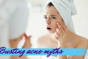 Busting acne myths TheFuss.co.uk