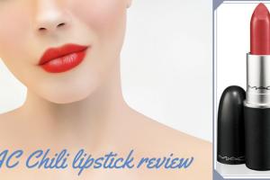 MAC Chili lipstick review TheFuss.co.uk