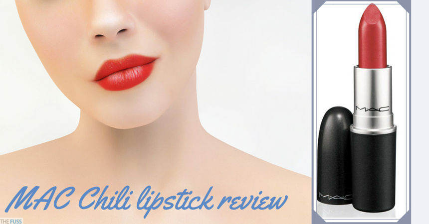 Estremamente MAC Chili lipstick review - The Fuss CN18
