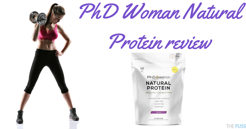 PhD Woman Natural Protein review TheFuss.co.uk