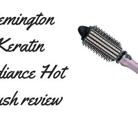 Remington Keratin Radiance Hot Brush Review TheFuss.co.uk