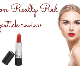 Revlon Really Red lipstick review TheFuss.co.uk