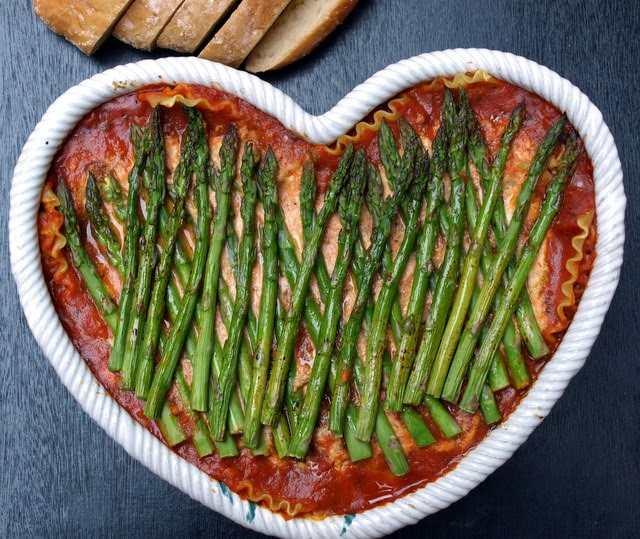 The Simple Veganista Vegan Lasagna Asparagus