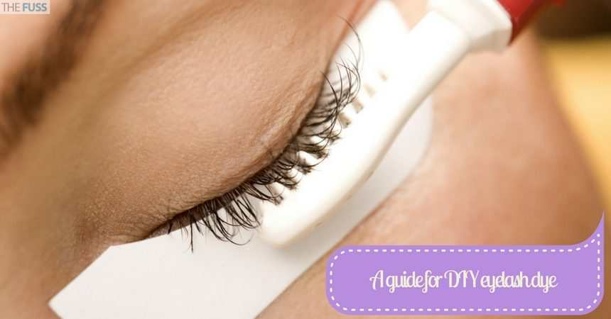 A Simple Guide For A Diy Eyelash Dye Job The Fuss