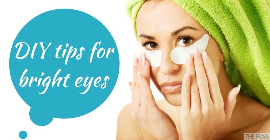 DIY tips for brighter eyes TheFuss.co.uk