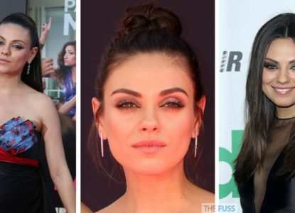 How to get Mila Kunis' eye makeup look TheFuss.co.uk