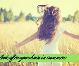 How to look after your hair in summer TheFuss.co.uk