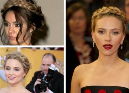 Milkmaid braid inspiration from the celebs TheFuss.co.uk