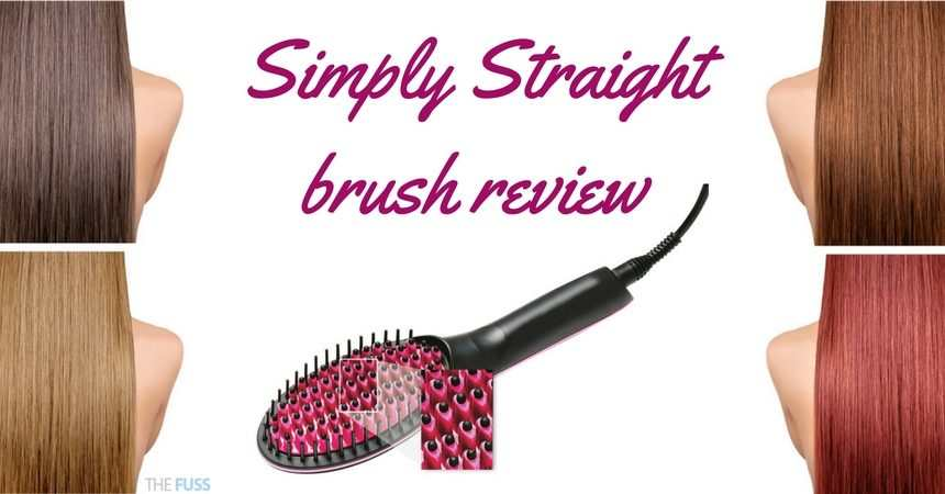 Simply Straight brush review TheFuss.co.uk