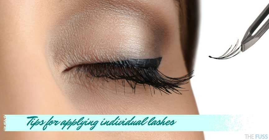Tips for applying individual lashes TheFuss.co.uk