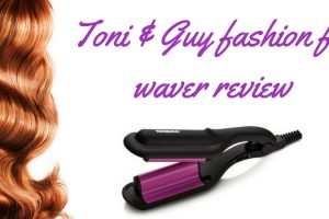 Toni & Guy fashion fix waver review TheFuss.co.uk