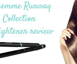 Tresemme Runway Collection straightener review TheFuss.co.uk