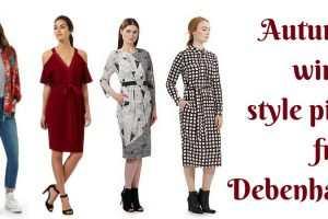 Autumn winter style picks from Debenhams TheFuss.co.uk