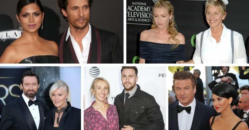 celebrity dating big age gaps