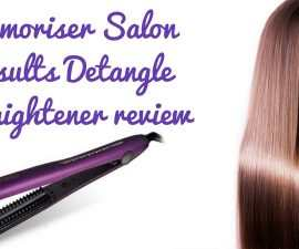 Glamoriser Salon Results Detangle Straightener Review TheFuss.co.uk