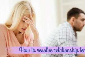 How To Solve Relationship Tension TheFuss.co.uk