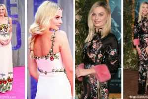 Margot Robbie gets the embroidered fashion trend right TheFuss.co.uk