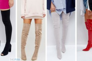 Over The Knee Boots You Need This Autumn Winter