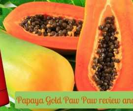 Papaya Gold Paw Paw review and uses TheFuss.co.uk