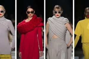 Christian Siriano Featured Plenty Of Knitwear During The AW16 Collection TheFuss.co.uk