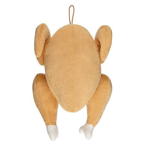 Fred Ginger Christmas Turkey Dog Toy