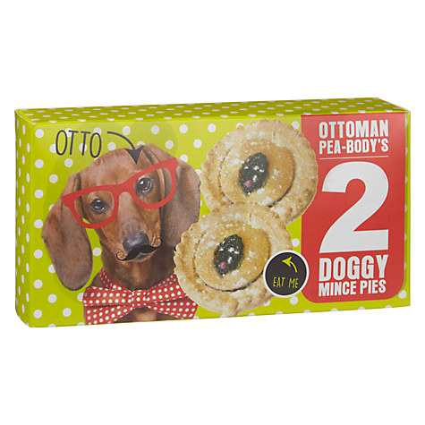 Ottoman Pea Bodys Mince Pie Dog Treats