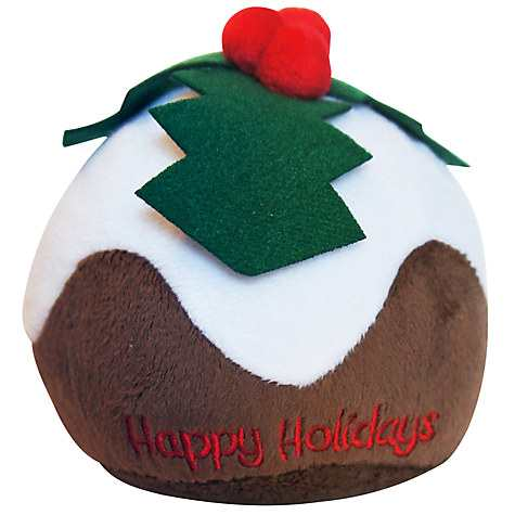 Pet London Christmas Pudding Dog Toy