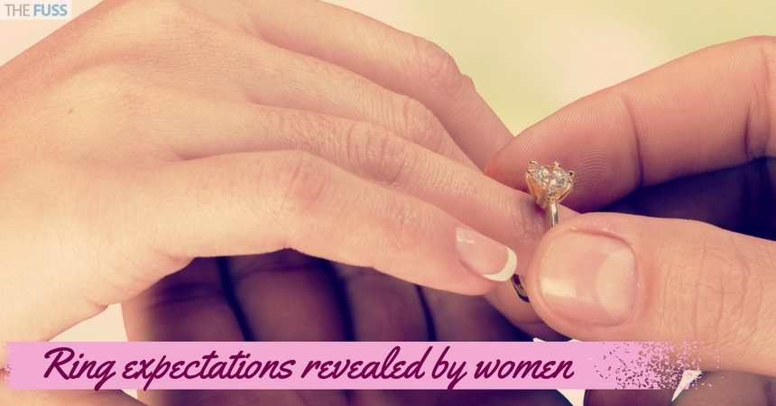 Ring Expectations For The Proposal Are Revealed TheFuss.co.uk