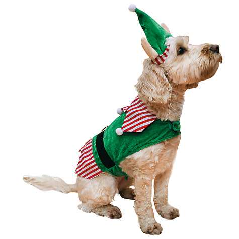 Rosewood Jolly Doggy Elf Costume
