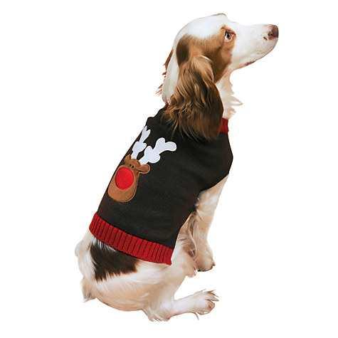Rosewood Reindeer Dog Jumper