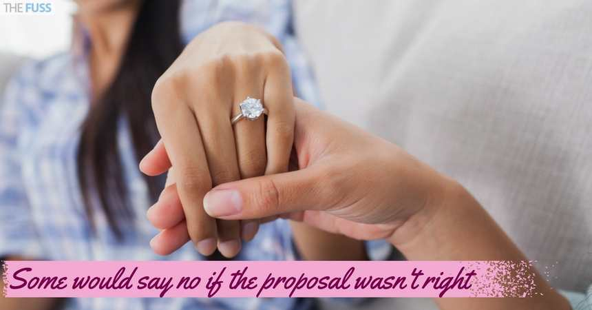Some Would Say No If The Proposal Wasnt Right TheFuss.co.uk