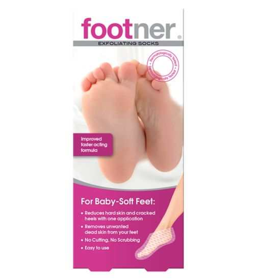 Footner Exfoliating Socks review TheFuss.co.uk