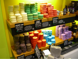 Lush Cosmetics Products