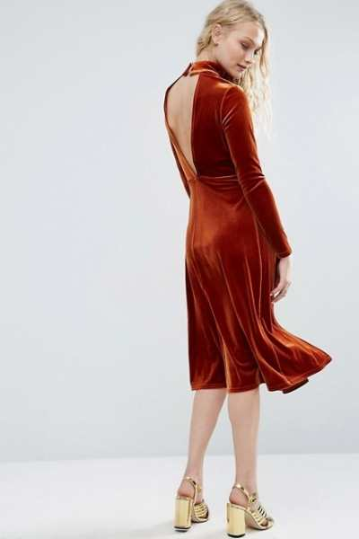 Asos Backless Dresses Your Wardrobe Needs The Fuss