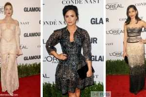Celebs Delight In The Lastest Trend Lace And Embellishment TheFuss.co.uk