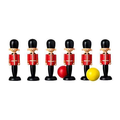 Orange Tree Soldier Wooden Toy Skittles