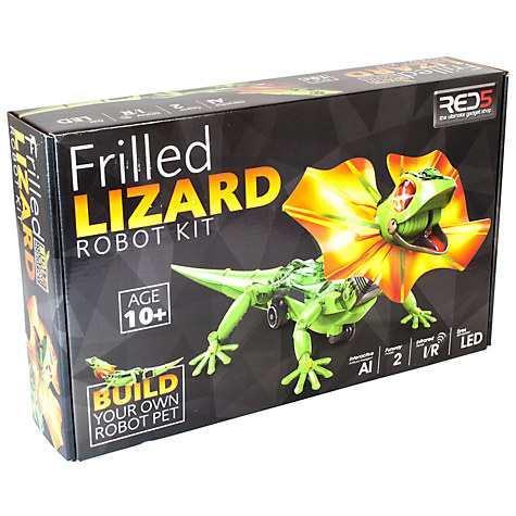 RED5 Frilled Lizard Robot Kit