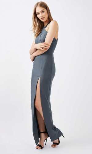 Topshop Cross Front Maxi Dress