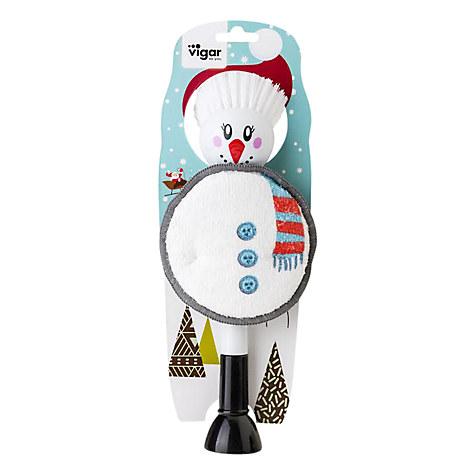 Vigar Mrs Snowman Dish Brush