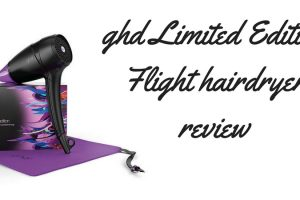 ghd Limited Edition Flight Hairdryer review TheFuss.co.uk