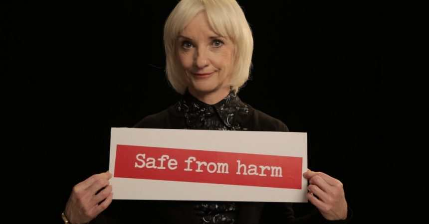Jane Horrocks supports ActionAid's Christmas appeal TheFuss.co.uk