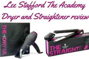 Lee Stafford Academy Dryer And Straightener Review TheFuss.co.uk