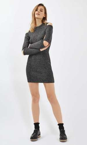 Topshop Slash Jumper Dress