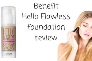 Benefit Hello Flawless Foundation Review TheFuss.co.uk