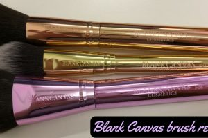 Blank Canvas Brush Review TheFuss.co.uk