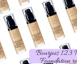 Bourjois 123 Perfect Foundation Review