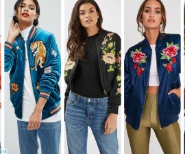 Embroidered Bomber Jackets: Pick of the best on the high street TheFuss.co.uk