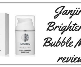 Janjira Brightening Bubble Mask Review TheFuss.co.uk